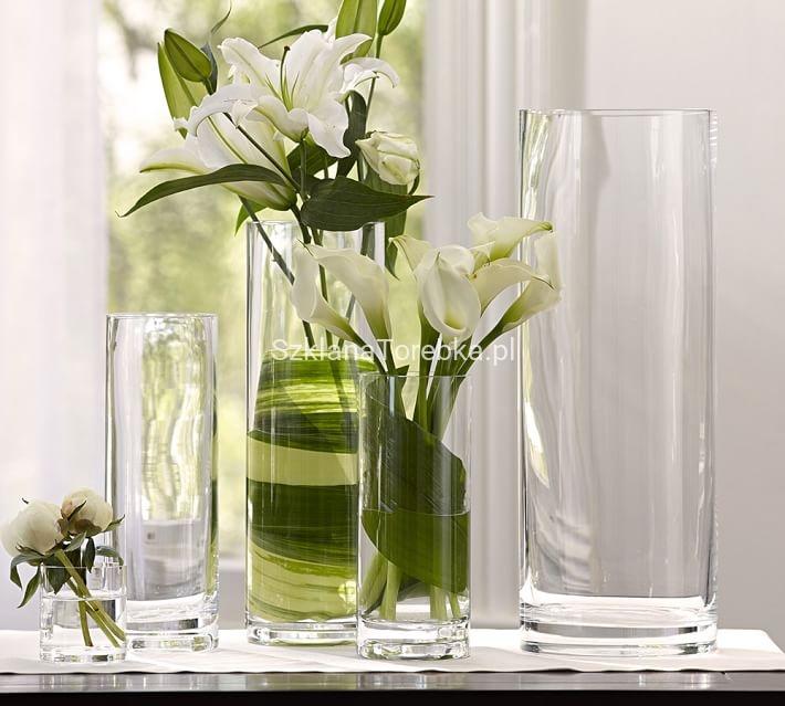 Wazon szklany tuba 50 19 cm sklep - Turkis dekoration ...