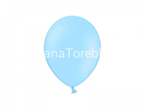 Balony Celebration pastelowe błękitne 25 cm / 100 szt.