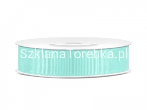 Tasiemka Rypsowa Tiffany Blue 15 mm / 25 m.