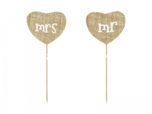Toppery Mr Mrs 18,5cm / 2 szt.