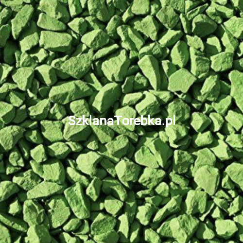 Kamienie Dekoracyjne Zielone 05 Kg
