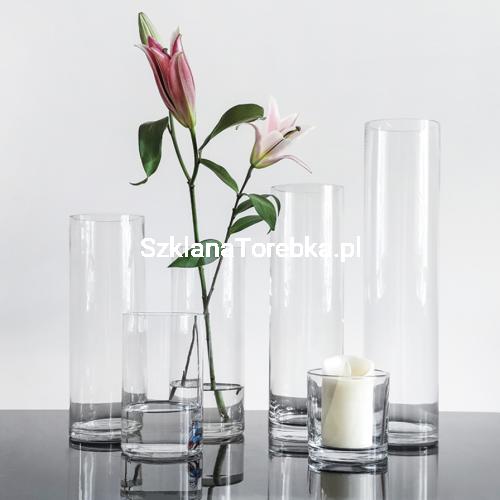 Wazon Szklany Cylinder Na Kwiaty 60cm F 12cm Sklep Szklanatorebka Pl