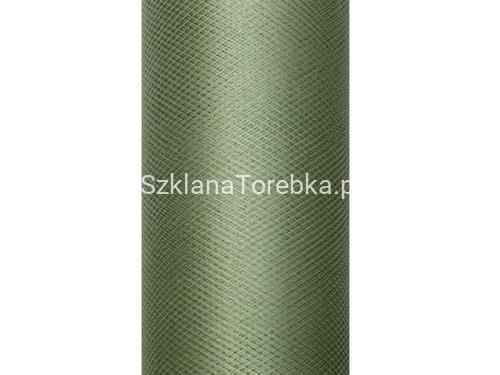 8fb84abd Tiul gładki zielony 50 cm x 9 m/1 rolka